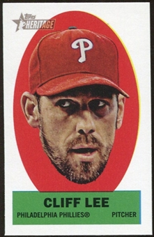 2012 Topps Heritage Stick-Ons #38 Cliff Lee