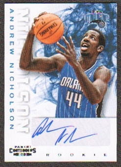 2012/13 Panini Contenders #218 Andrew Nicholson Autograph