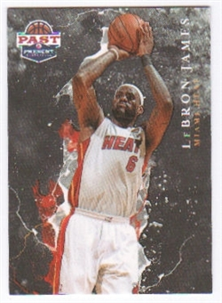 2011/12 Panini Past and Present Raining 3's #9 LeBron James