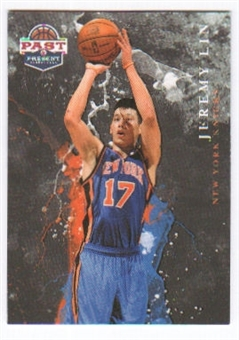 2011/12 Panini Past and Present Raining 3's #10 Jeremy Lin