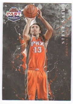 2011/12 Panini Past and Present Raining 3's #14 Steve Nash