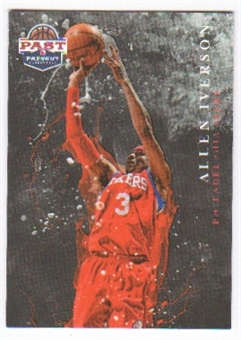 2011/12 Panini Past and Present Raining 3's #17 Allen Iverson