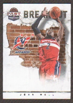 2011/12 Panini Past and Present Breakout #2 John Wall