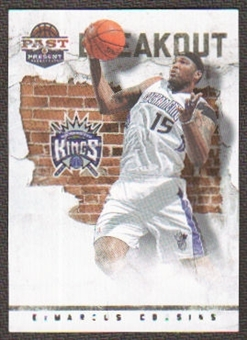 2011/12 Panini Past and Present Breakout #3 DeMarcus Cousins