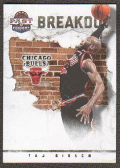2011/12 Panini Past and Present Breakout #6 Taj Gibson
