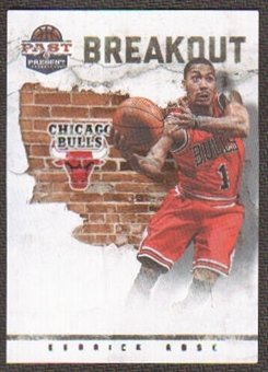 2011/12 Panini Past and Present Breakout #12 Derrick Rose