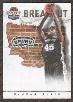 2011/12 Panini Past and Present Breakout #15 DeJuan Blair