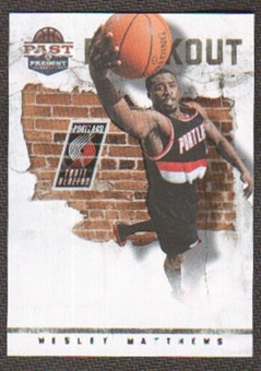 2011/12 Panini Past and Present Breakout #18 Wesley Matthews