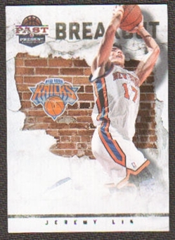 2011/12 Panini Past and Present Breakout #22 Jeremy Lin