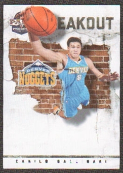 2011/12 Panini Past and Present Breakout #27 Danilo Gallinari