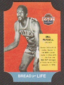 2011/12 Panini Past and Present Bread for Life #41 Bill Russell