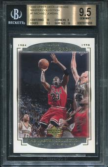 2000 Upper Deck NBA Legends Master Collection #1 Michael Jordan BGS 9.5 Gem Mint
