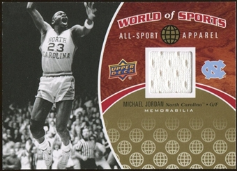 2010 Upper Deck World of Sports All-Sport Apparel Memorabilia #ASA2 Michael Jordan