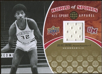2010 Upper Deck World of Sports All-Sport Apparel Memorabilia #ASA9 Julius Erving