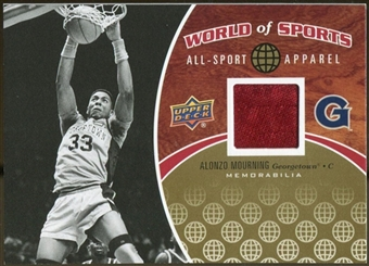 2010 Upper Deck World of Sports All-Sport Apparel Memorabilia #ASA11 Alonzo Mourning