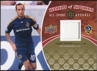 2010 Upper Deck World of Sports All-Sport Apparel Memorabilia #ASA23 Landon Donovan