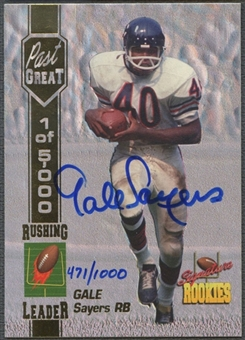 1994 Signature Rookies #S2A Gale Sayers Auto #0471/1000