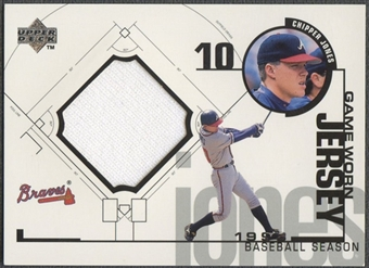 1999 Upper Deck #CJ Chipper Jones Game Jersey