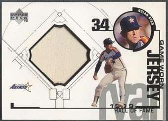 1999 Upper Deck #NRA Nolan Ryan Astros Game Jersey