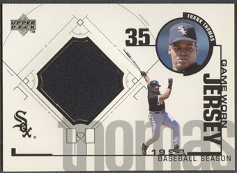 1999 Upper Deck #FT Frank Thomas Game Jersey