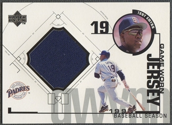 1999 Upper Deck #TGW Tony Gwynn Game Jersey