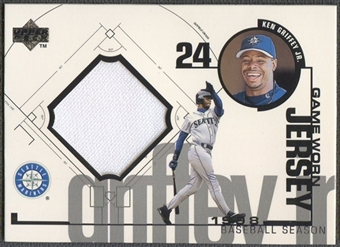 1999 Upper Deck #KG Ken Griffey Jr. Game Jersey