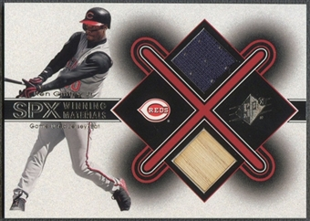 2001 SPx #KG1 Ken Griffey Jr. Winning Materials Bat Jersey