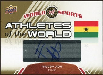 2010 Upper Deck World of Sports Athletes of the World Autographs #AW9 Freddy Adu