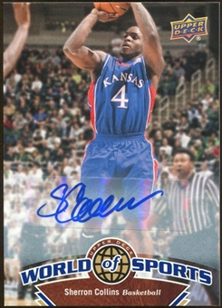 2010 Upper Deck World of Sports Autographs #27 Sherron Collins