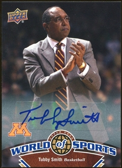 2010 Upper Deck World of Sports Autographs #345 Tubby Smith