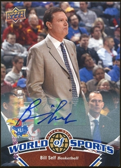 2010 Upper Deck World of Sports Autographs #367 Bill Self