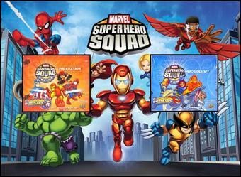 COMBO DEAL - Marvel Super Hero Squad Booster Boxes (Foundation, Hero's Destiny)
