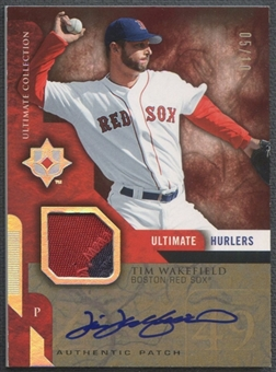 2005 Ultimate Collection #TW Tim Wakefield Hurlers Signature Patch Auto #05/10