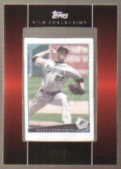 2009 Topps Silk Collection #S232 Matt Lindstrom /50