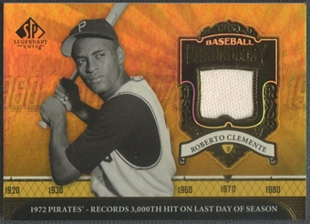 2006 SP Legendary Cuts #CL Roberto Clemente Baseball Chronology Materials Pants SP