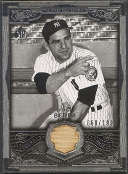 2006 SP Legendary Cuts #YB Yogi Berra Legendary Materials Silver Bat #068/199