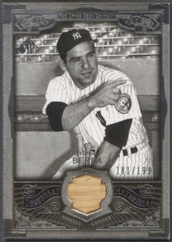 2006 SP Legendary Cuts #YB Yogi Berra Legendary Materials Silver Bat #181/199