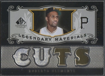 2007 SP Legendary Cuts #RC Roberto Clemente Legendary Materials Dual Jersey #109/125