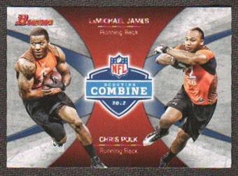 2012 Topps Bowman Combine Competition #CCJP LaMichael James/Chris Polk