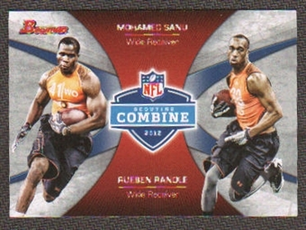 2012 Topps Bowman Combine Competition #CCSR Mohamed Sanu/Rueben Randle
