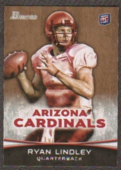 2012 Topps Bowman Gold #104 Ryan Lindley