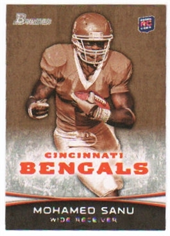 2012 Topps Bowman Gold #152 Mohamed Sanu