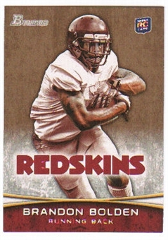 2012 Topps Bowman Gold #184 Brandon Bolden