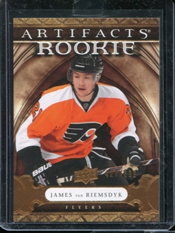 2009/10 Upper Deck Artifacts #209 James van Riemsdyk RC /699