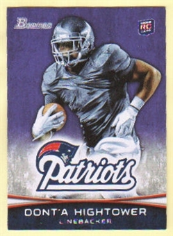 2012 Topps Bowman Purple #102 Dont'a Hightower