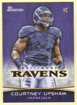 2012 Topps Bowman Purple #134 Courtney Upshaw