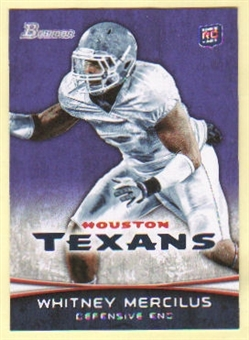 2012 Topps Bowman Purple #148 Whitney Mercilus
