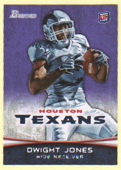 2012 Topps Bowman Purple #191 Dwight Jones