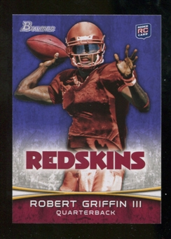 2012 Topps Bowman Purple #200 Robert Griffin III