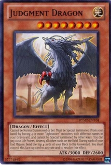 Yu-Gi-Oh Ra Mega Pack Single Judgment Dragon Common